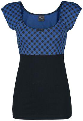 Blue Vichy Shirt