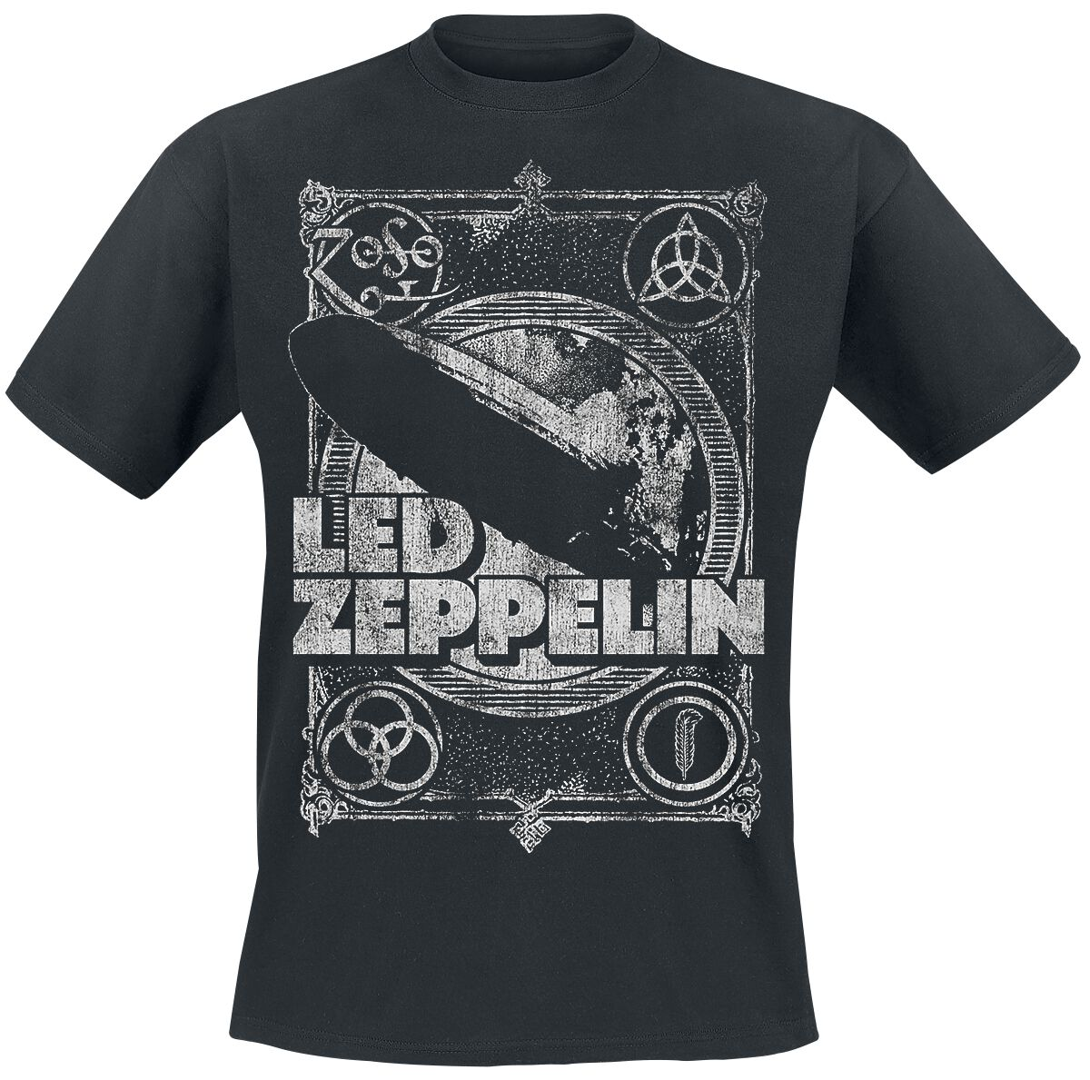 1b446111d Led Zeppelin T Shirt White – EDGE Engineering and Consulting Limited