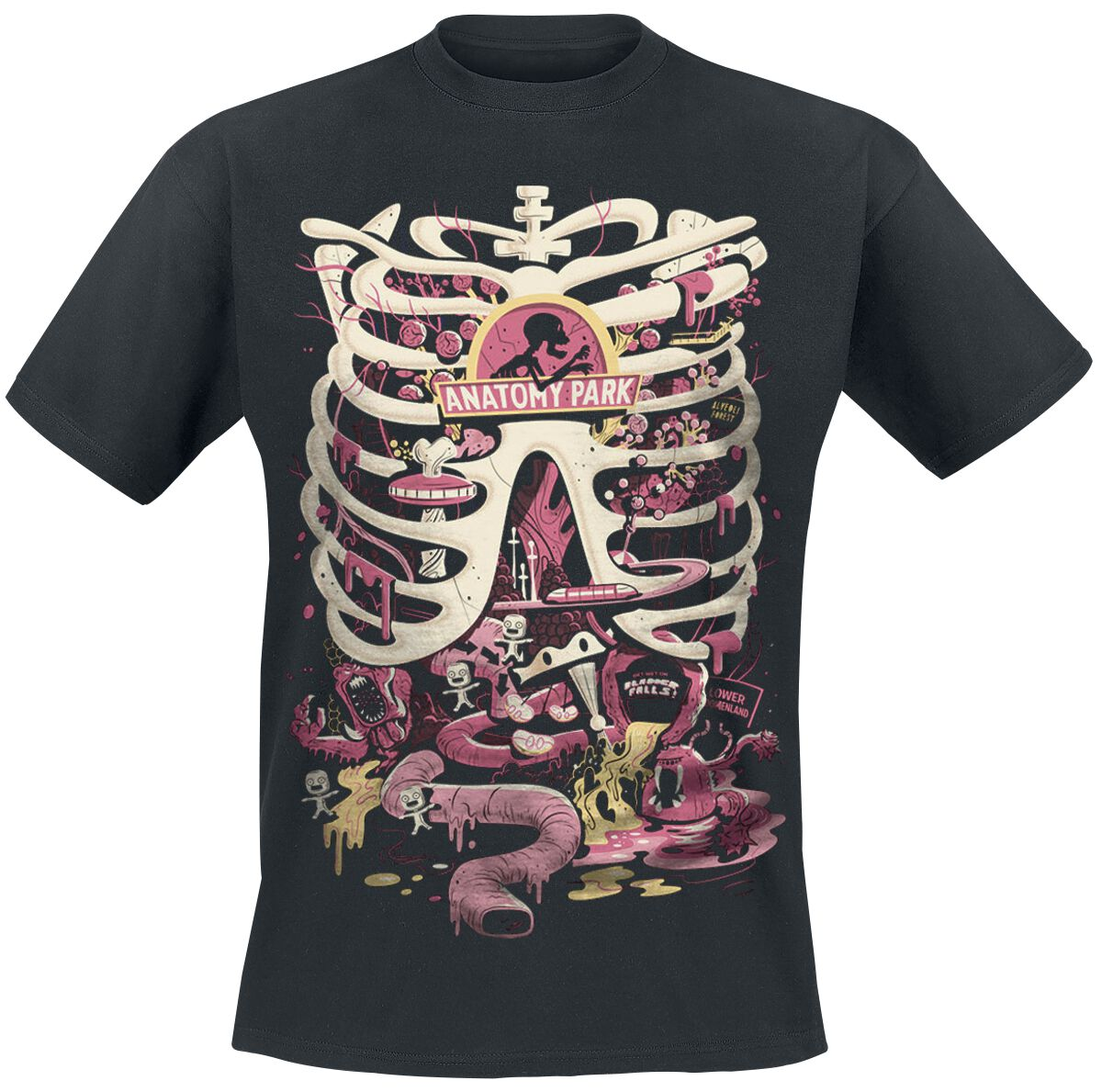 Anatomy Park Rick And Morty T Shirt Emp