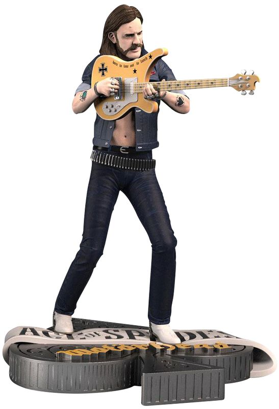 Lemmy - Rock Iconz Statue