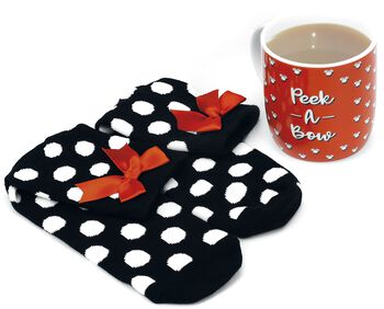Minnie - Mug With Socks