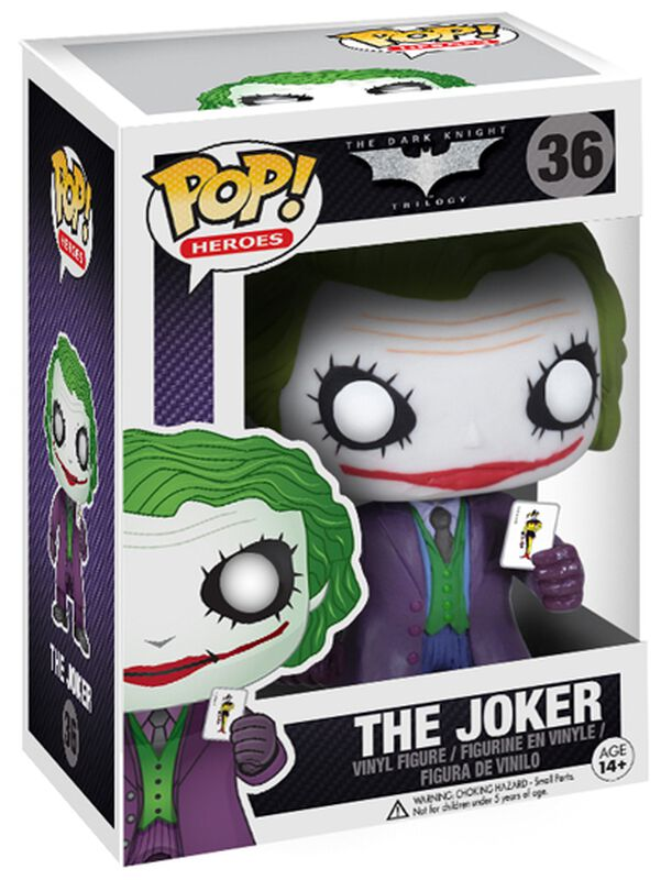 The Dark Knight Trilogy - The Joker Vinyl Figure 36