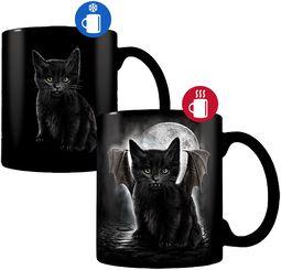 Bat Cat - Heat-Change Mug