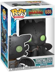 3 - Toothless Vinyl Figure 686