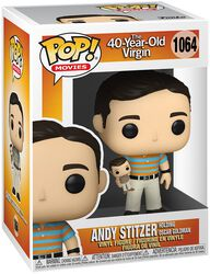 The 40-Year-Old Virgin Andy Holding Oscar (Chase Edition möglich) Vinyl Figur 1064