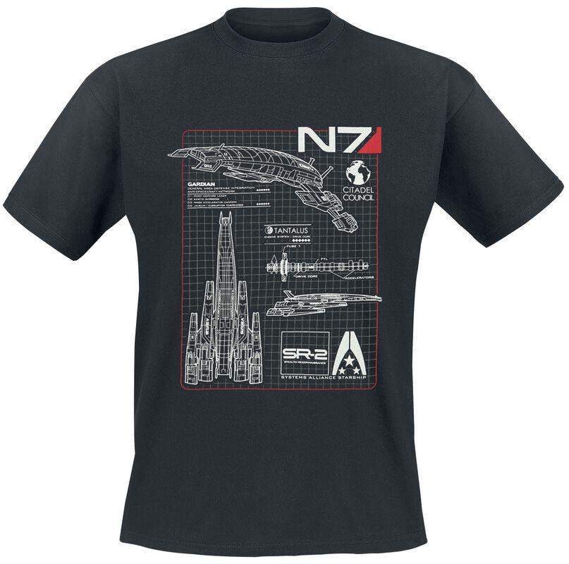N7 - Normandy Blueprint