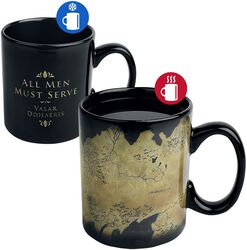 Westeros Map - Heat-Change Mug