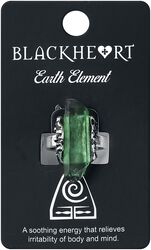 Earth Element Crystal Ring