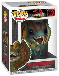 Dilophosaurus (Chase Edition Possible) Vinyl Figure 550