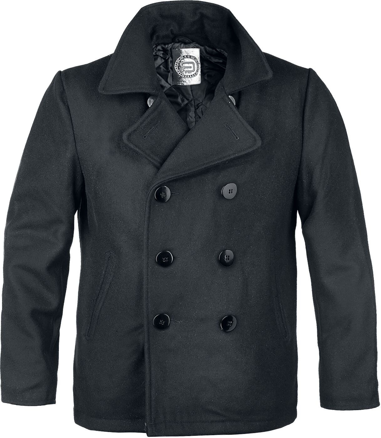 The Sterlingwear Authentic Peacoat features: