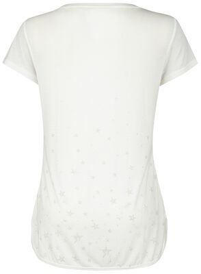 Sport and Yoga - White T-shirt with Print