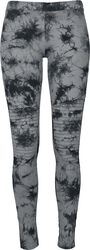 Ladies Biker Batik Leggings