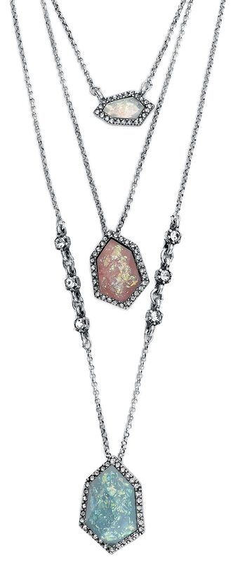 Stone Waterfall Necklace