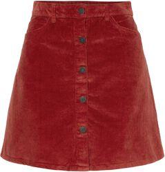 Sunny Short Curduroy Skirt