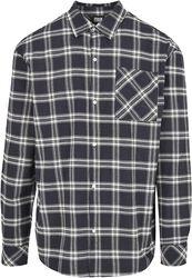 Oversized Check Shirt
