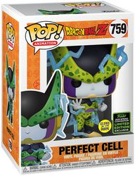 Z - ECCC 2020 - Perfect Cell (GITD) Vinyl Figure 759
