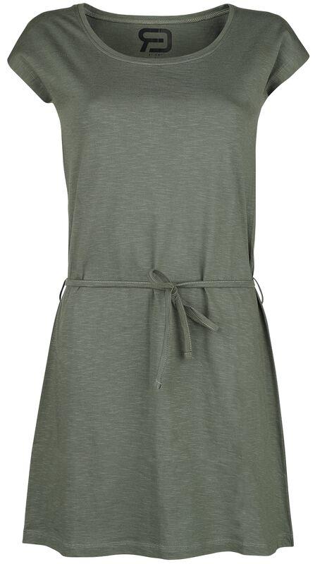 Short Olive Dress