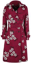 Marjorie Floral Trench Coat