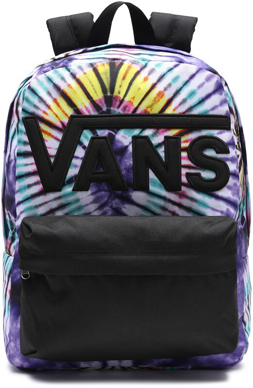 Old Skool III New Age Purple Tie Dye Backpack