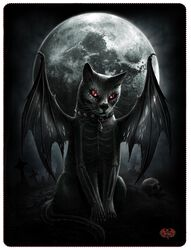 Vamp Cat Fleecedecke