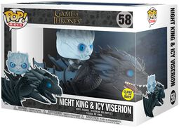 Night King & Icy Viserion (GITD) POP Rides Vinyl Figure 58
