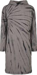 Ladies Oversized Tie Dye Hoodie Dress
