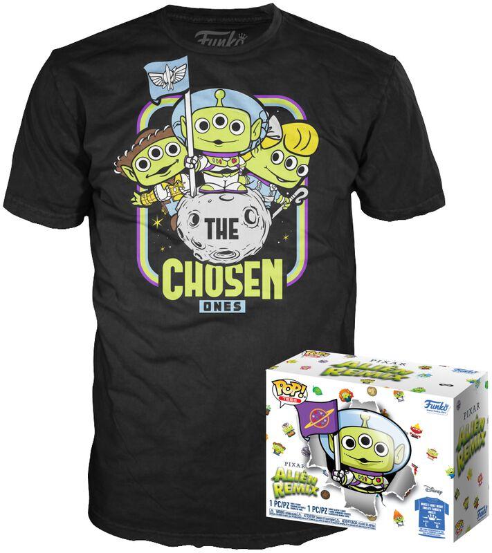 Alien As Buzz (GITD) POP! & Tee