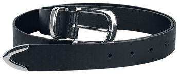 Faux-Leather Belt