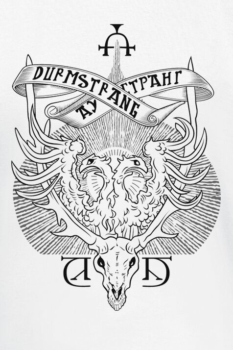 Durmstrang Crest Harry Potter T Shirt Emp The durmstrang ship seen in harry potter and the goblet of fire (film)was a scale model, built to rock back and forth like a real ship. durmstrang crest harry potter t shirt