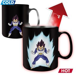 Z - Vegeta - Heat-Change Mug