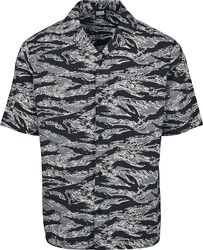 Pattern Resort Shirt Stone Camo