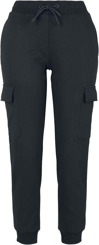 Ladies Cargo Sweat Trousers