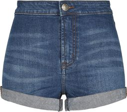 Ladies Slim Fit Denim Shorts