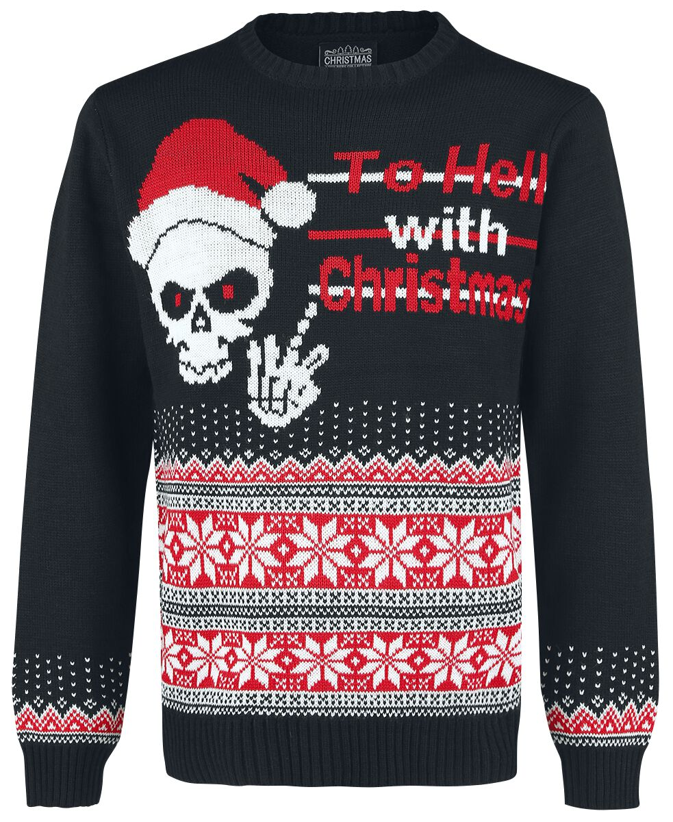Skull | Ugly Christmas Sweater Christmas jumper | EMP