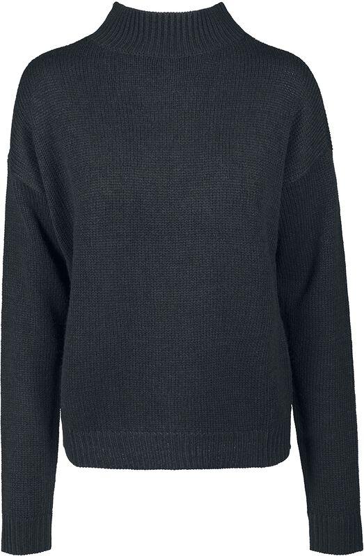 Ladies Oversized Turtleneck Sweater
