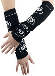 Arm Warmers With 8-Balls