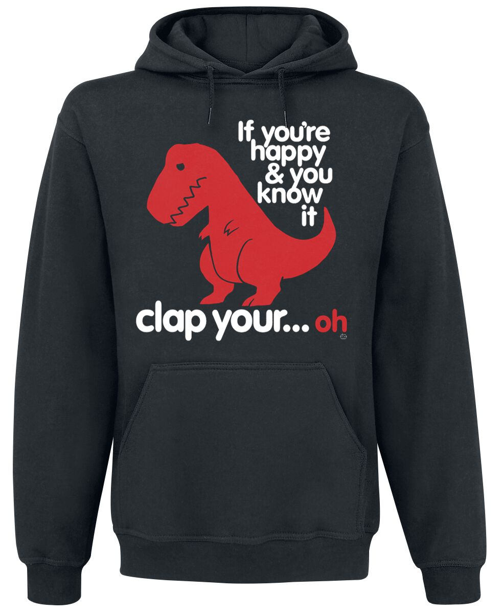 6d151a5185 Sad T-Rex | Goodie Two Sleeves Hooded sweater | EMP