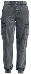 Washed Cargo Trousers