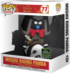 ECCC 2020 - Mushu Riding Panda (POP Rides) Vinyl Figure 77