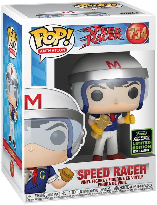 Speed Racer ECCC 2020 - Speed Racer with Trophy Vinyl Figure 754