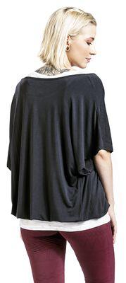 Sport und Yoga - grau/weißes Doublelayer Shirt