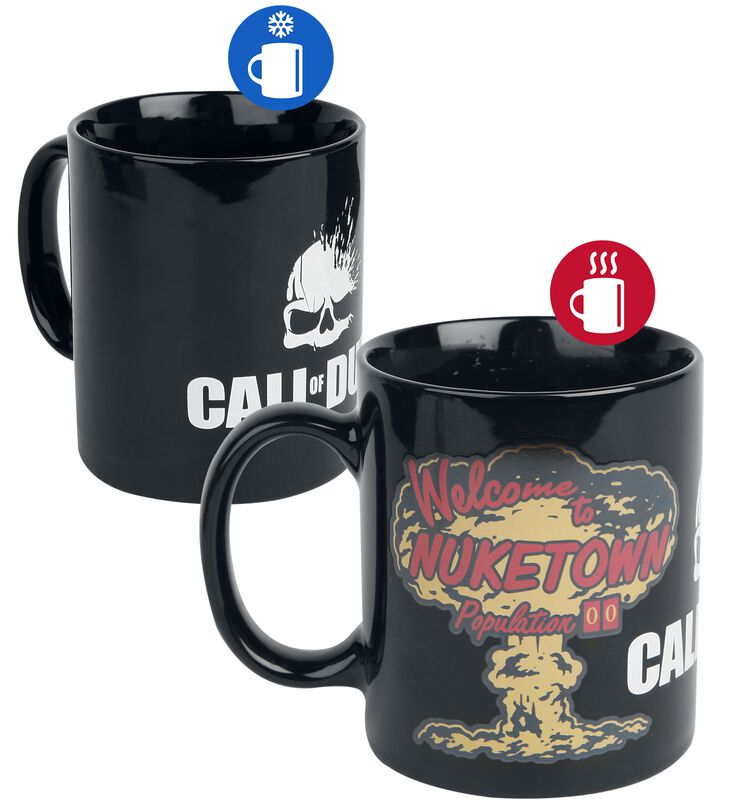 Nuketown - Heat-Change Mug
