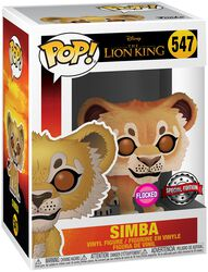 Simba (Flocked) Vinyl Figure 547
