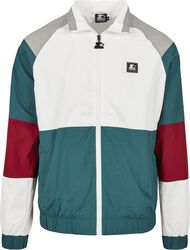 Color Block Retro Jacket