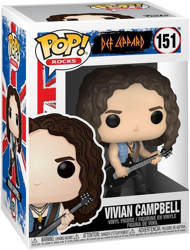 Vivian Campbell Rocks Vinyl Figur 151