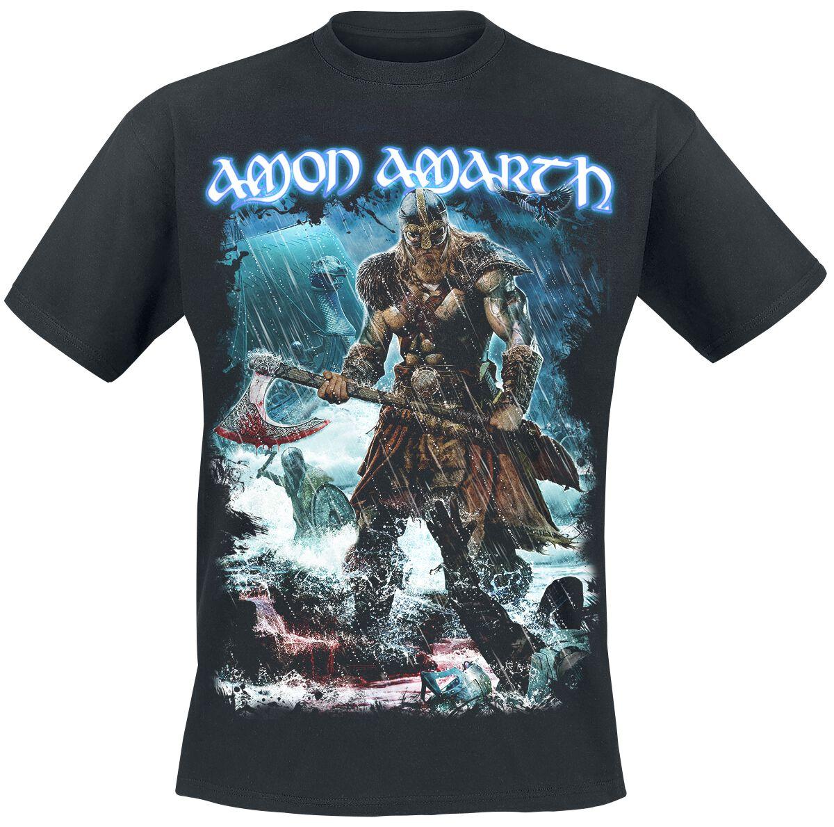 AMON AMARTH Jomsviking t-shirt BLACK clothing shirt toddler children BAND MUSIC