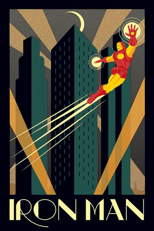 Marvel Deco - Iron Man