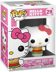 Hello Kitty (Kawaii Burger Shop) Vinyl Figure 29