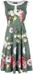 Mix Floral Hepburn Dress