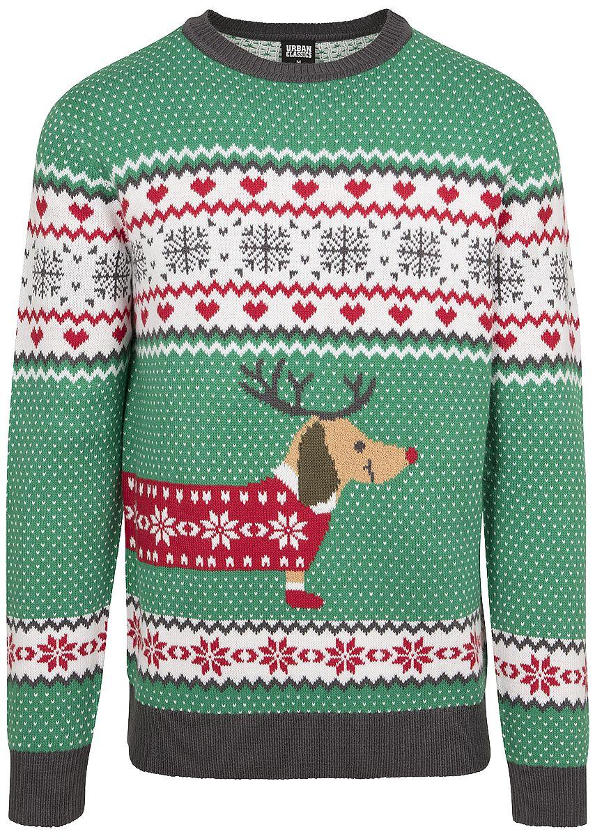 Dog Christmas Sweater.Sausage Dog Christmas Sweater